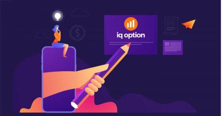 Cómo crear una cuenta y registrarse con IQ Option